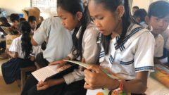 コンポントム州Brang Samraong Primary Schoolへの支援